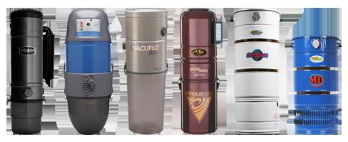 Central Vacuum Units